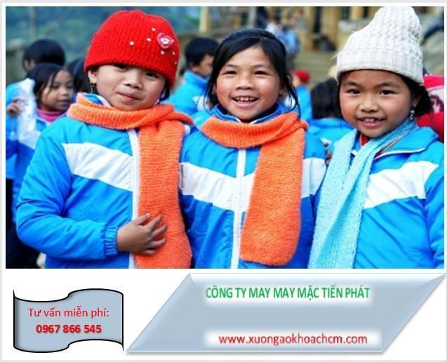 may áo gió từ thiện