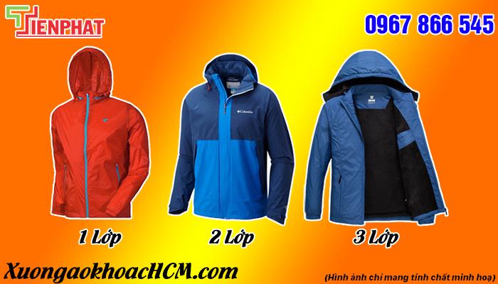 may áo khoác giá rẻ tại Lâm Đồng