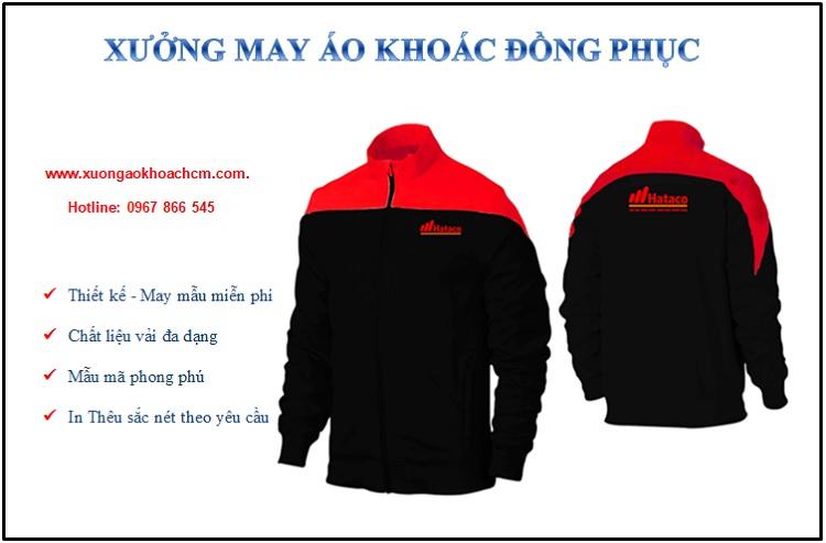 công ty may áo khoác đồng phục