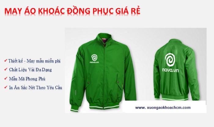 xưởng may áo khoác đồng phục tại Biên Hòa