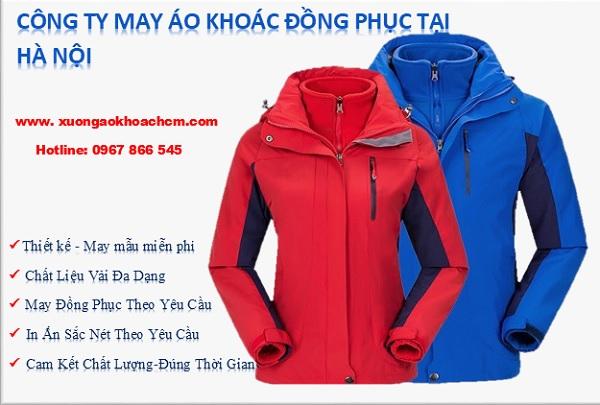 công ty may áo khoác đồng phục tại Hà Nội giá rẻ