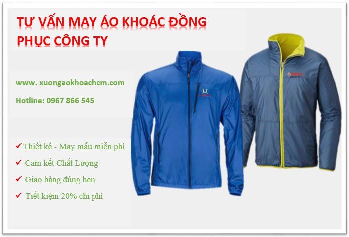 tư vấn may áo khoác đồng phục cho công ty