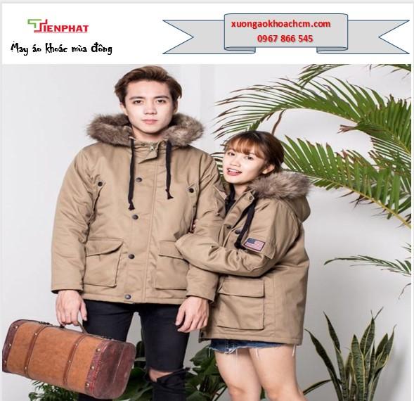 cơ sở may áo khoác đồng phục mùa đông giá rẻ