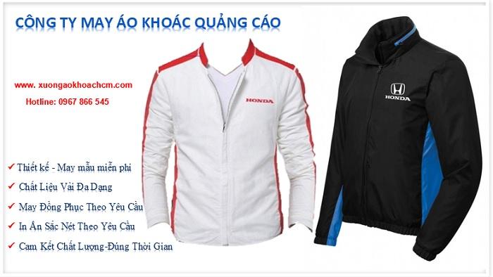 may áo khoác quảng cáo giá rẻ