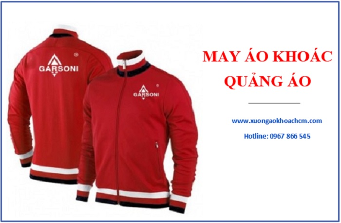 xưởng may áo khoác quảng cáo cho doanh nghiệp